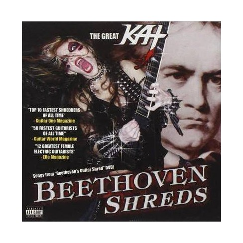 Great Kat - Beethoven Shreds (CD) - image 1 of 1
