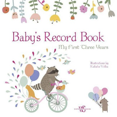 Baby's Record Book (Girl)- (Hardcover)