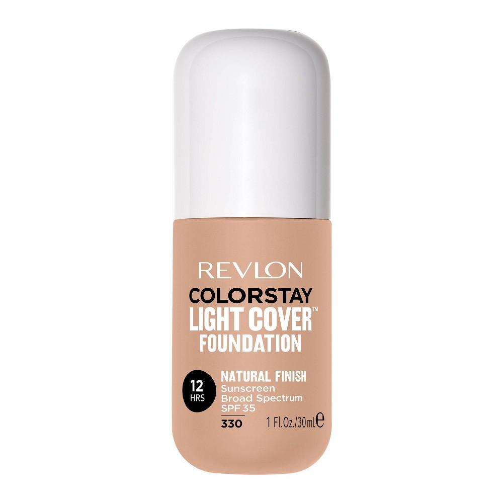 Revlon Colorstay Light Cover Liquid Foundation Natural Tan 330 1 Fl Oz