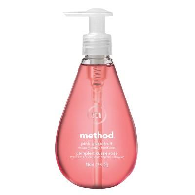 Method Gel Hand Soap Pink Grapefruit - 12 fl oz