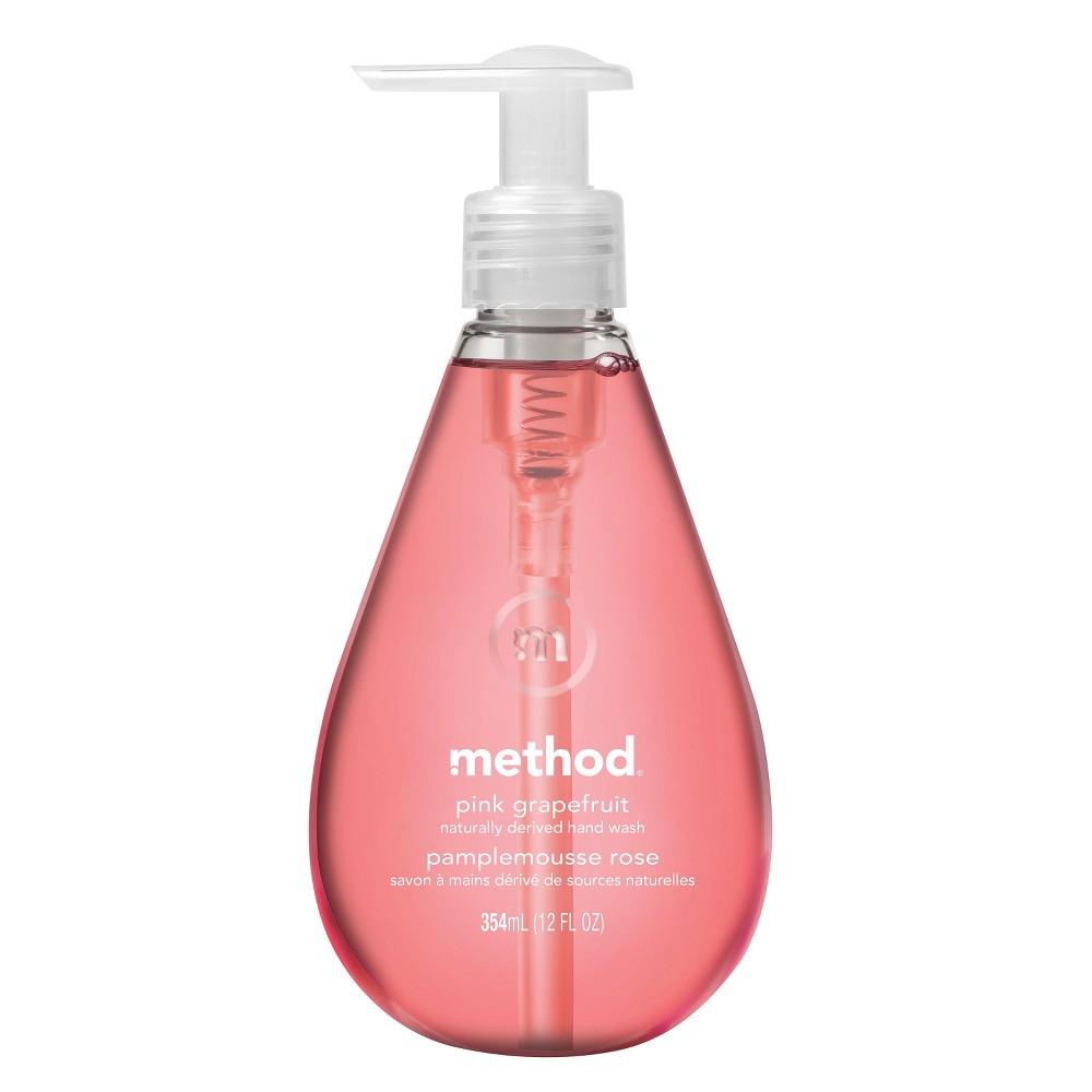 Method Gel Hand Soap Pink Grapefruit - 12oz