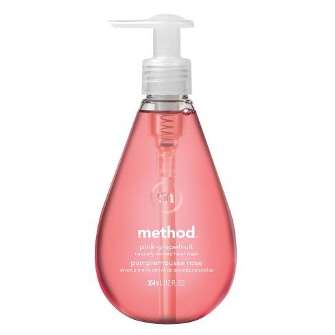 Method Gel Hand Soap Pink Grapefruit - 12 fl oz - image 1 of 3