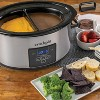 Crock Pot 6qt Choose-a-Crock Slow Cooker - Silver - image 2 of 4