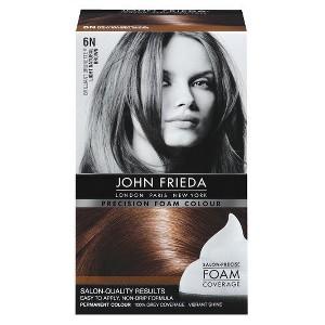John Frieda Precision Foam Colour - Light Natural Brown, 6N Light Natural Brown