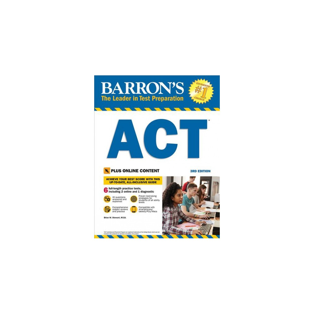 Barron's Act - 3 Pap/Psc (Barron's Act) by Brian W. Stewart (Paperback)