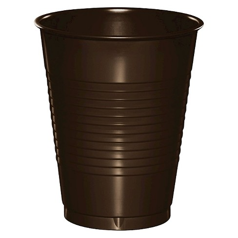 20ct Chocolate Brown Disposable Cups - image 1 of 1