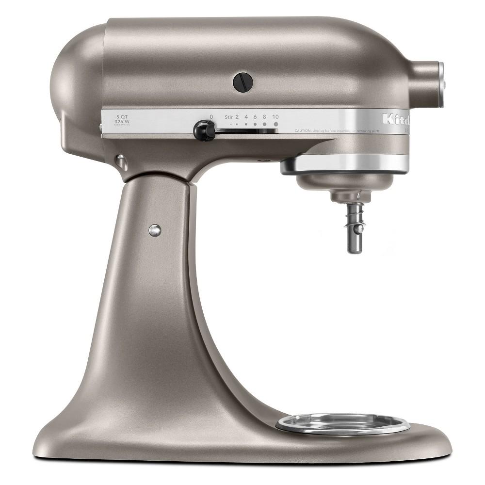 KitchenAid Refurbished Artisan Series Stand Mixer – Silver RRK150CS, Medium Silver 53570909