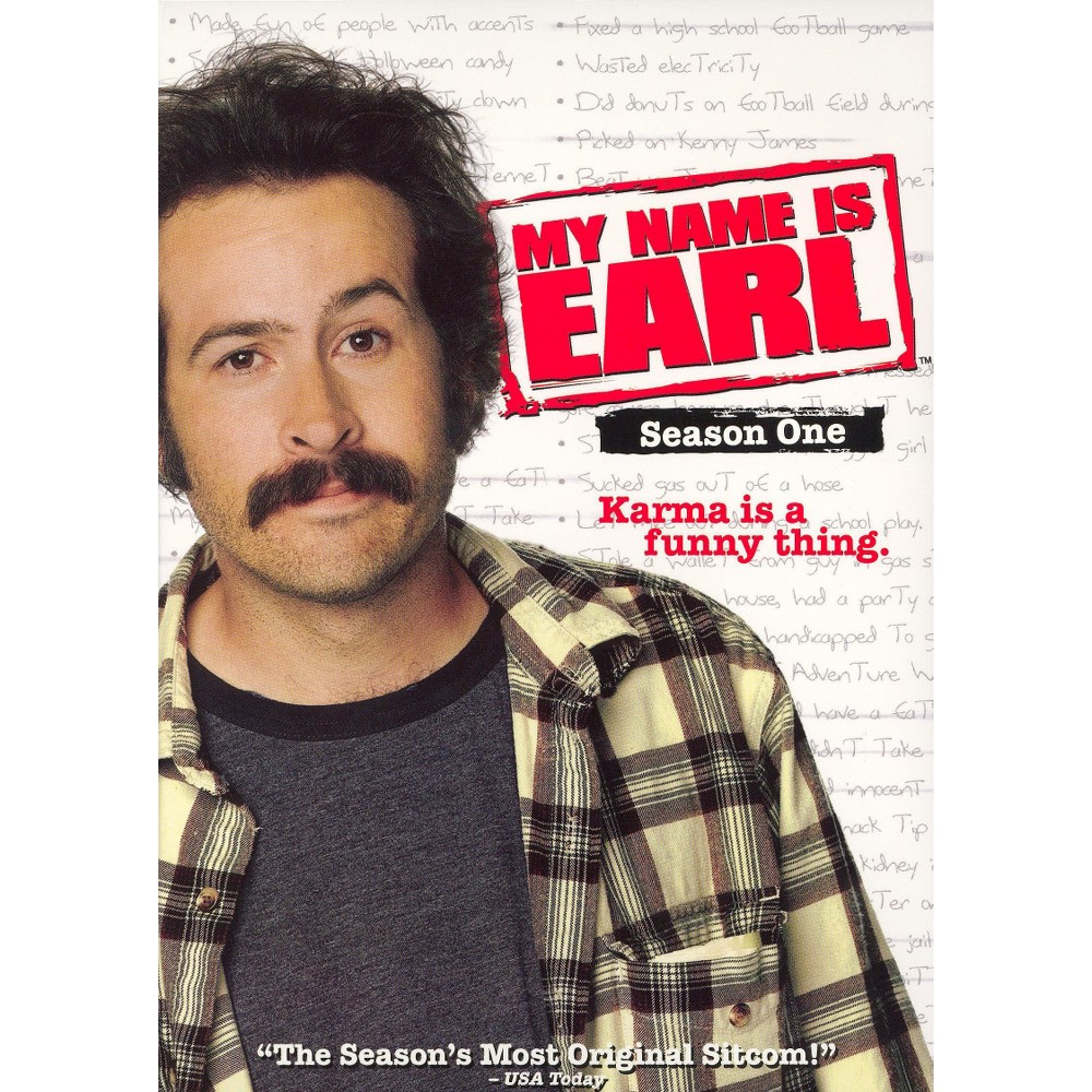 My Name Is Earl: Season One (4 Discs) (dvd_video)