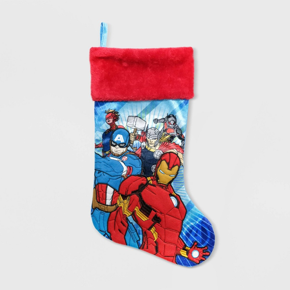 Image of Avengers Applique Christmas Stockings - Marvel