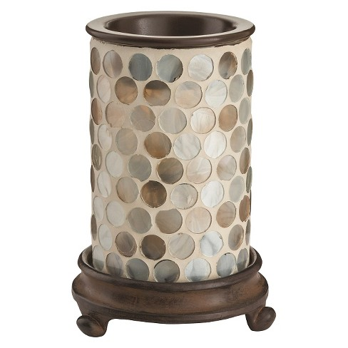 Pearl Mosaic Glass Illumination Fragrance Warmer - Candle Warmers Etc.® - image 1 of 2