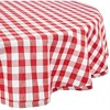 Checkers Red & White Tablecloth - image 2 of 4