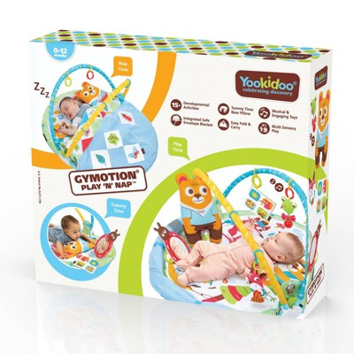 Yookidoo Play N Nap Gymotion 3-Stage Activity Gym