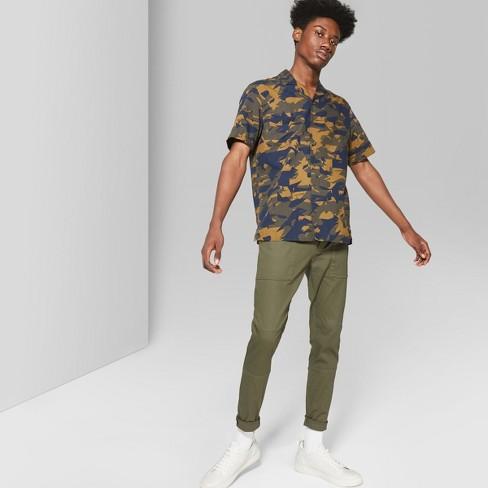 Men's Skinny Utility  Pants - Original Use™ Paris Green 26 - image 1 of 3