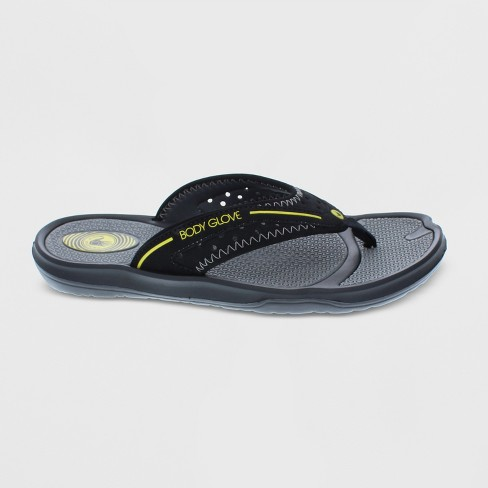 b2bdfafe878a Men s Body Glove Kona Flip Flop Sandals - Black   Target