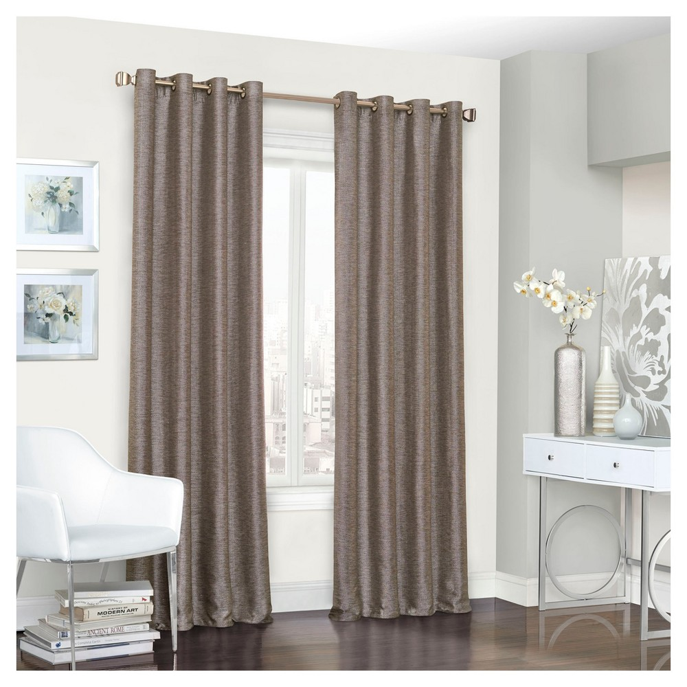 Presto Thermalined Curtain Panel Brown (52