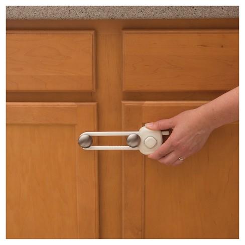 ebac2b5fd28a Safety 1st® OutSmart™ Cabinet Slide Lock White   Target
