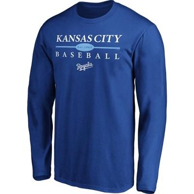 MLB Kansas City Royals Men's Long Sleeve Core T-Shirt