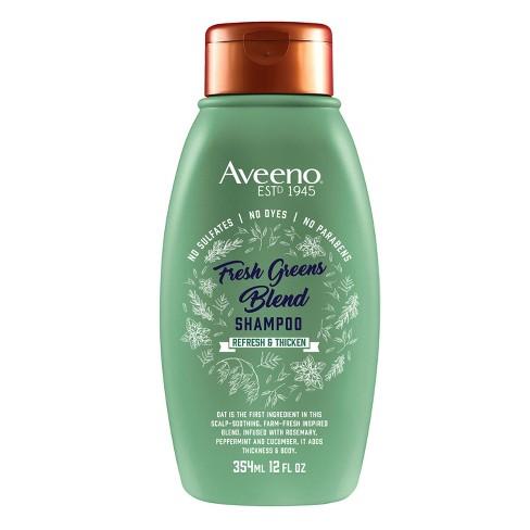 Aveeno Scalp Soothing Fresh Greens Blend Shampoo - 12 fl oz - image 1 of 3