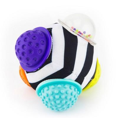 Sassy Chime & Chew Textured Ball