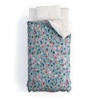 Ninola Design Romance Petals Poly Comforter Set - Deny Designs