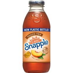 Snapple Peach Tea - 16 fl oz Bottle
