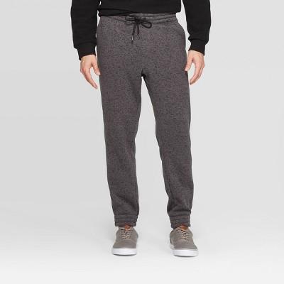 Men's Jogger Pants - Goodfellow & Co™ Dark Heather Gray L