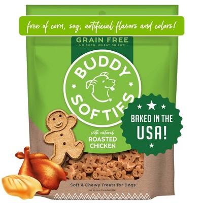 Buddy Biscuits Grain Free Chicken Soft & Chewy Treats Dog Treats - 5oz
