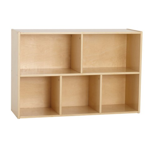 """ECR4Kids 5-Compartment Storage Cabinet 
