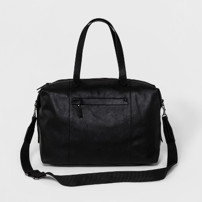 4980c2a52b Women s Next Faux Leather Weekender Bag - Universal Thread™