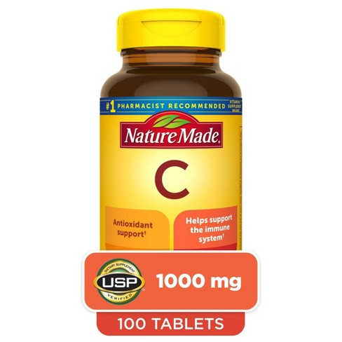 Nature Made Vitamin C Dietary Supplement Tablets - image 1 of 4