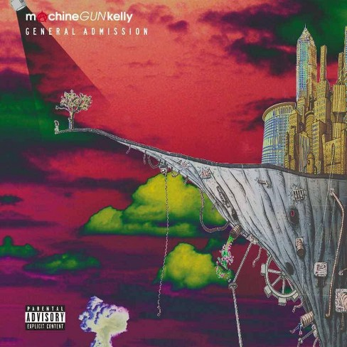 Machine Gun Kelly (3 [MGK]) - General Admission (deluxe Edition) (pa) * (CD) - image 1 of 1