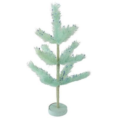 "Northlight 19"" Unlit Artificial Easter Tree Sisal Pine - Pastel Green"