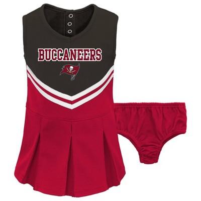 NFL Tampa Bay Buccaneers Toddler Girls' Cheer Set