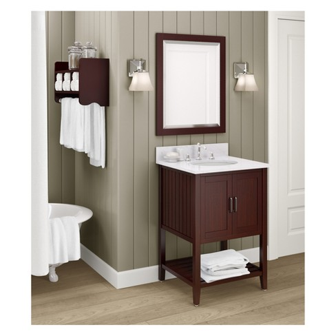 Bennett Bath Vanity With Marble Sink Top 25 Alaterre Furniture