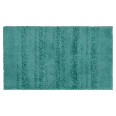 Garland Essence Nylon Washable Bath Rug - Sea foam (24 x40 )