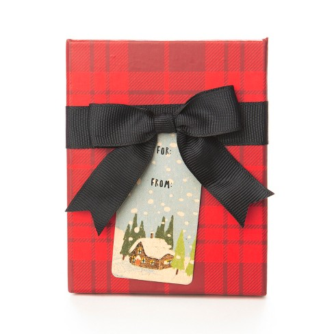 Paper Magic Red Plaid Gift Card Holder - image 1 of 1
