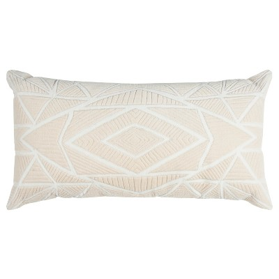 Throw Pillow Rizzy Home Beige