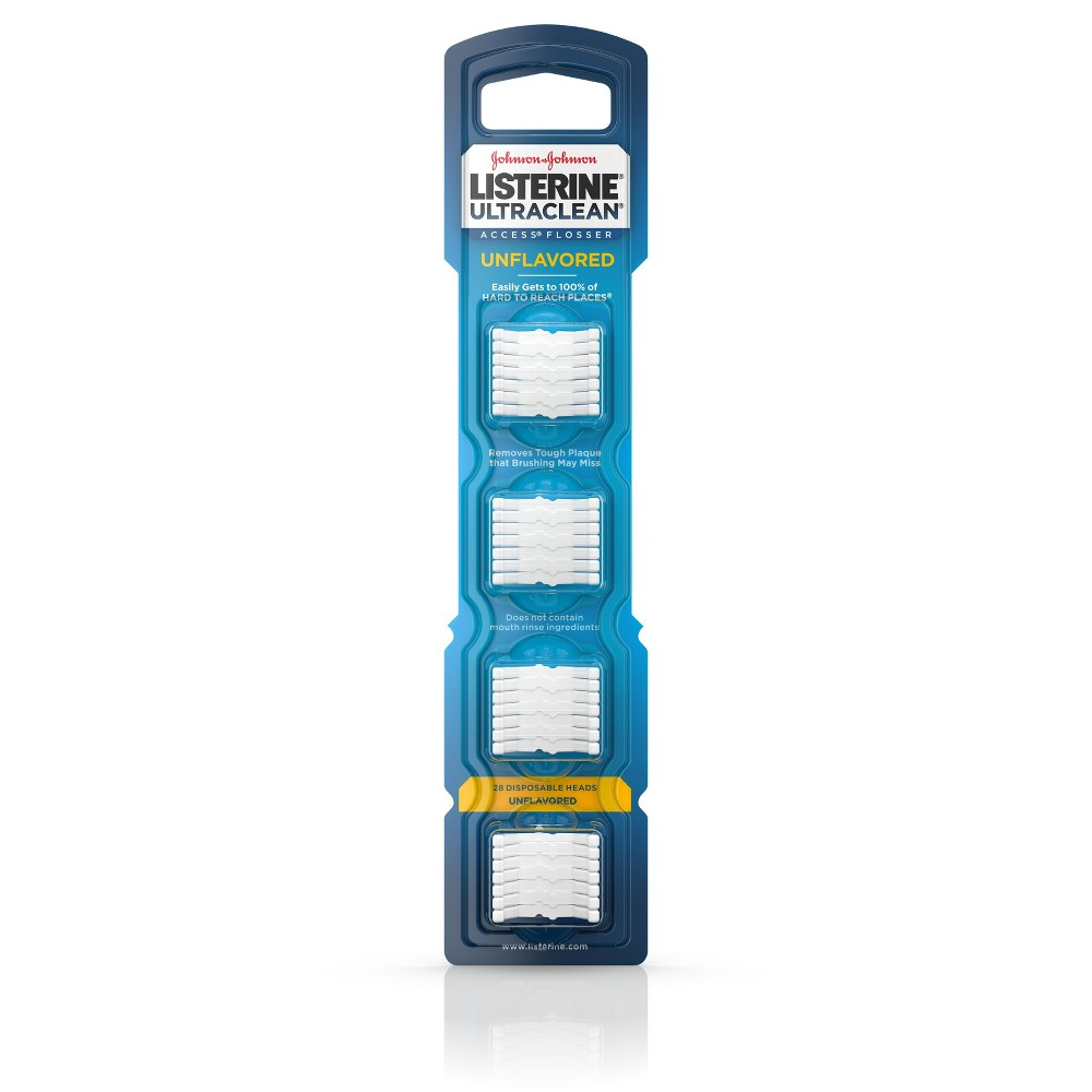 Listerine Ultraclean Access Flosser Refill Heads - 28ct