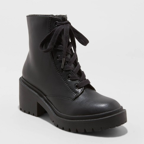 Women's Brie Lace-Up Combat Boots - Universal Thread™ - image 1 of 3