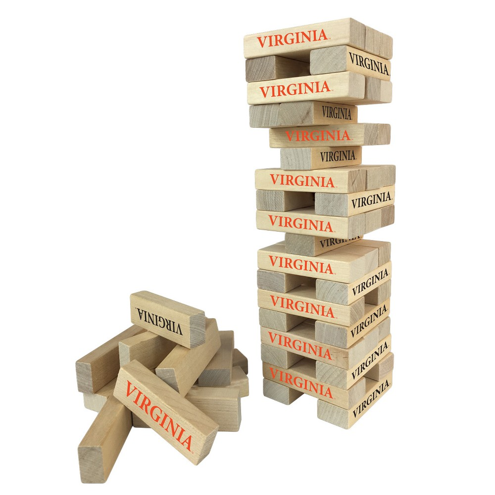 NCAA Wild SportsTabletop Stackers Game Virginia Cavaliers