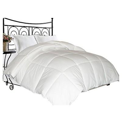 Microfiber Down Blend Comforter (Full/Queen)White - Blue Ridge Home Fashions®
