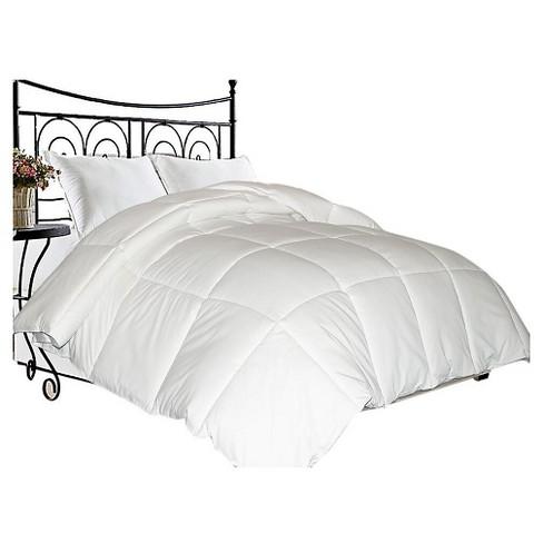 Microfiber Down Blend Comforter White - Blue Ridge Home Fashions - image 1 of 1