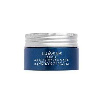 Lumene Arktis Moisture & Relief Rich Night Balm for Sensitive Skin - 1.7oz