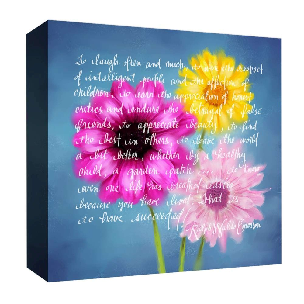 To Laugh Often Decorative Canvas Wall Art 16