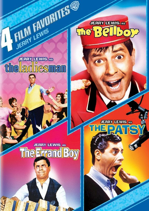 Jerry Lewis: 4 Film Favorites [4 Discs] - image 1 of 1