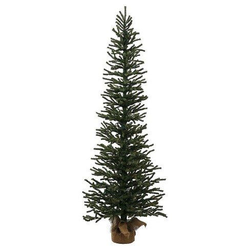 4ft Unlit Pine Artificial Christmas Tree in Burlap Base - image 1 of 1