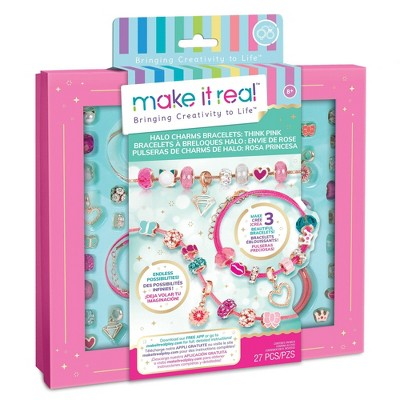 make it real Halo Charms Think Pink Kit