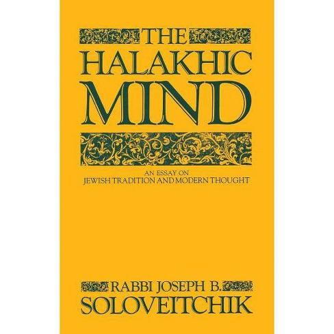 The Halakhic Mind - by  Joseph B Soloveitchik (Paperback) - image 1 of 1