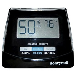 Honeywell Humidity Monitor Black