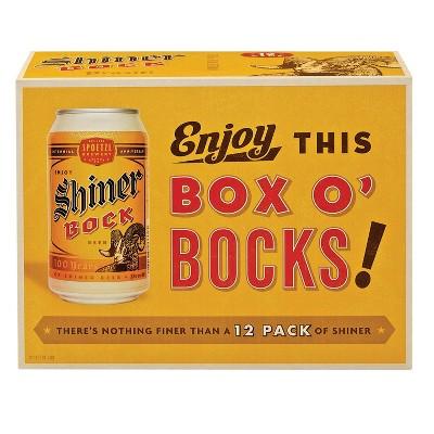 Shiner Bock Beer - 12pk/12 fl oz Cans